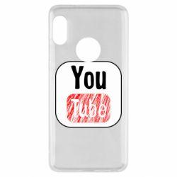 Чохол для Xiaomi Redmi Note 5 YouTube