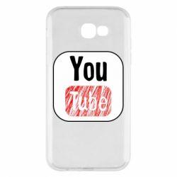 Чохол для Samsung A7 2017 YouTube