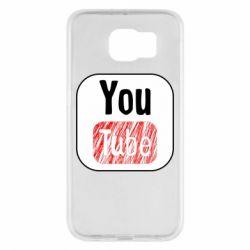 Чохол для Samsung S6 YouTube