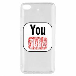 Чохол для Xiaomi Mi 5s YouTube