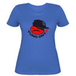 Женская футболка Yung ONYX - FatLine