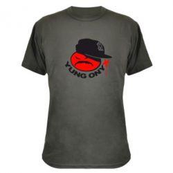 Камуфляжная футболка Yung ONYX