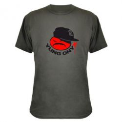 Камуфляжная футболка Yung ONYX - FatLine