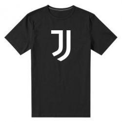Мужская стрейчевая футболка Ювентус