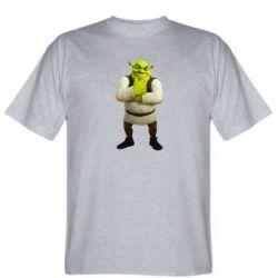 Мужская футболка Задумчивый Шрек - FatLine