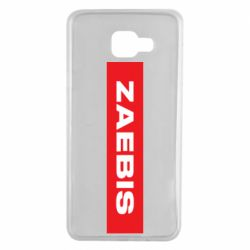 Чехол для Samsung A7 2016 Zaebis