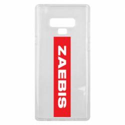 Чехол для Samsung Note 9 Zaebis