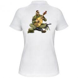 Женская футболка поло Zahisnik