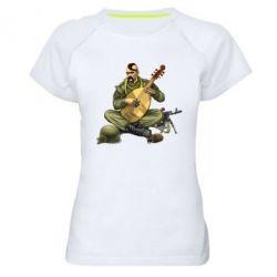Женская спортивная футболка Zahisnik