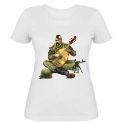Женская футболка Zahisnik