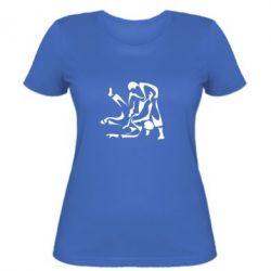 Женская футболка Захват