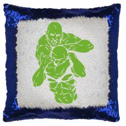 Подушка-хамелеон Захват