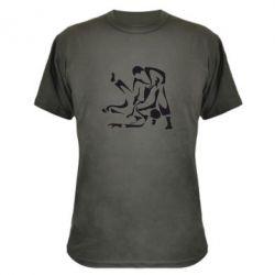 Камуфляжная футболка Захват