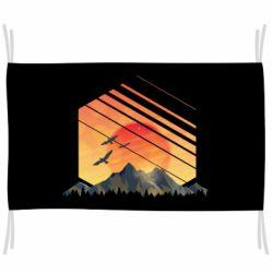 Прапор Захід Геометрія