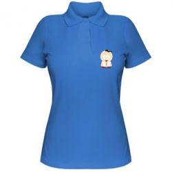 Женская футболка поло Запорізький козачок