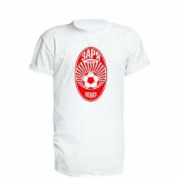Подовжена футболка Зоря Луганськ лого