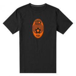 Чоловіча стрейчева футболка Зоря Луганськ лого