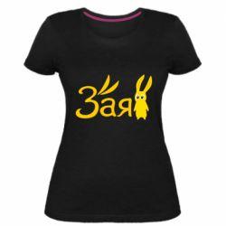 Жіноча стрейчева футболка Zaya sweetie