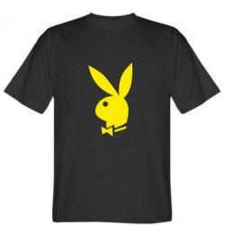 Мужская футболка Заяц Playboy - FatLine