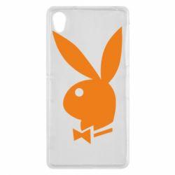 Чехол для Sony Xperia Z2 Заяц Playboy - FatLine