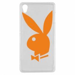 Чехол для Sony Xperia Z3 Заяц Playboy - FatLine