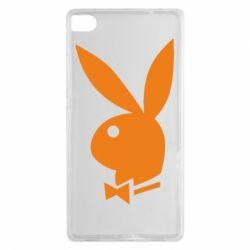 Чехол для Huawei P8 Заяц Playboy - FatLine