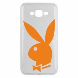 Чехол для Samsung J7 2015 Заяц Playboy - FatLine