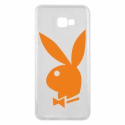 Чехол для Samsung J4 Plus 2018 Заяц Playboy - FatLine