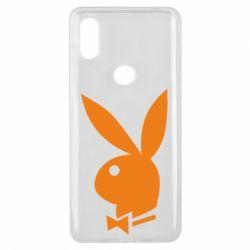 Чехол для Xiaomi Mi Mix 3 Заяц Playboy - FatLine