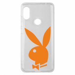 Чехол для Xiaomi Redmi Note 6 Pro Заяц Playboy - FatLine