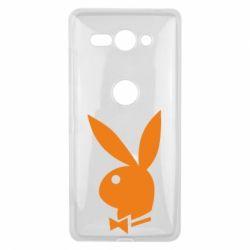 Чехол для Sony Xperia XZ2 Compact Заяц Playboy - FatLine