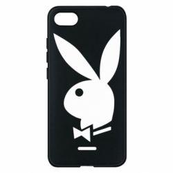 Чехол для Xiaomi Redmi 6A Заяц Playboy - FatLine