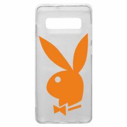 Чохол для Samsung S10+ Заєць Playboy