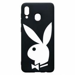 Чохол для Samsung A30 Заєць Playboy
