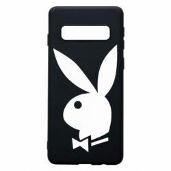 Чохол для Samsung S10 Заєць Playboy