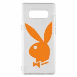 Чехол для Samsung Note 8 Заяц Playboy - FatLine