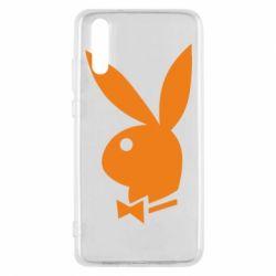 Чехол для Huawei P20 Заяц Playboy - FatLine