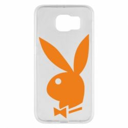 Чехол для Samsung S6 Заяц Playboy - FatLine