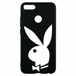 Чехол для Xiaomi Mi A1 Заяц Playboy - FatLine
