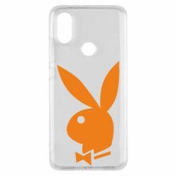 Чехол для Xiaomi Mi A2 Заяц Playboy - FatLine