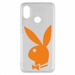 Чехол для Xiaomi Mi8 Заяц Playboy - FatLine