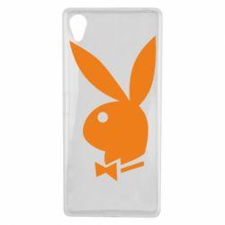 Чехол для Sony Xperia X Заяц Playboy - FatLine