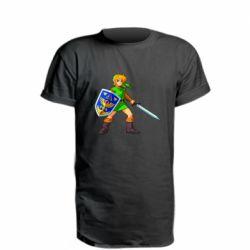 Удлиненная футболка Zelda