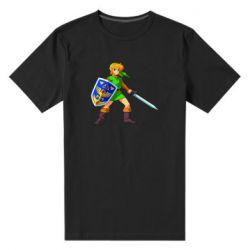 Мужская стрейчевая футболка Zelda
