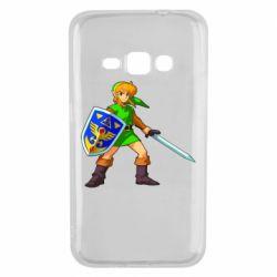Чехол для Samsung J1 2016 Zelda