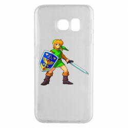 Чехол для Samsung S6 EDGE Zelda