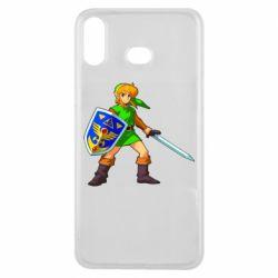 Чехол для Samsung A6s Zelda