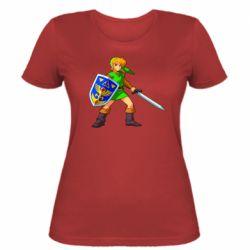 Женская футболка Zelda