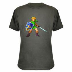 Камуфляжная футболка Zelda