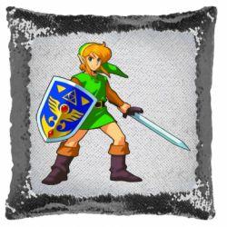 Подушка-хамелеон Zelda